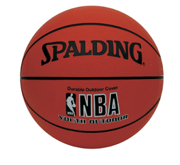Spalding Varsity Rubber Basketball