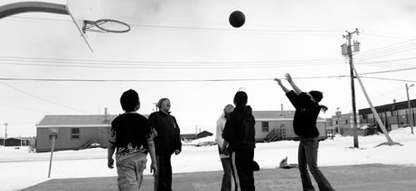 Kids Playing Basketball Worldwide