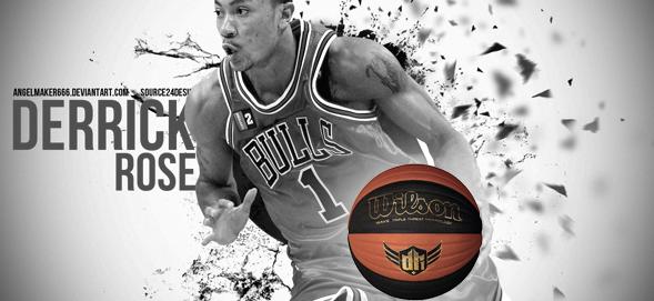 Wilson Derrick Rose Basketball
